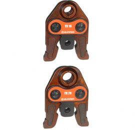 TH Jaws to suit EZ-1528 plumbers battery crimp tool.