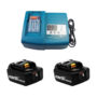 6Ah Batteries with Charger